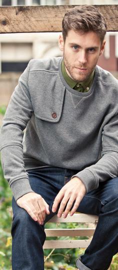 Milmoor Charcoal Sweatshirt,
