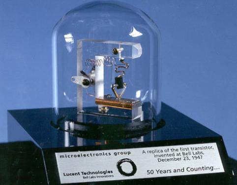 The first working transistor