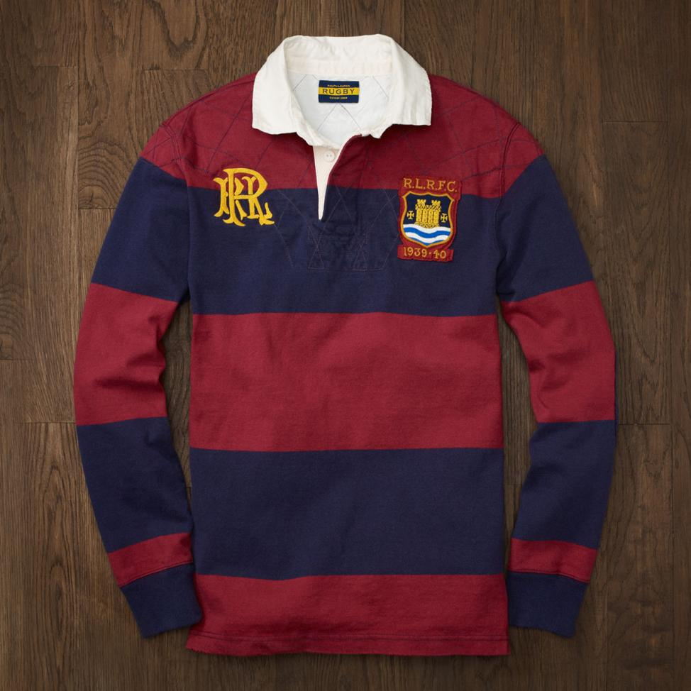 Ralph lauren rugby style shirts for Big and tall polo rugby shirts